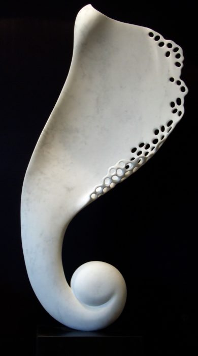 Angel Wing by Mel Fraser, contemporary stone sculpture