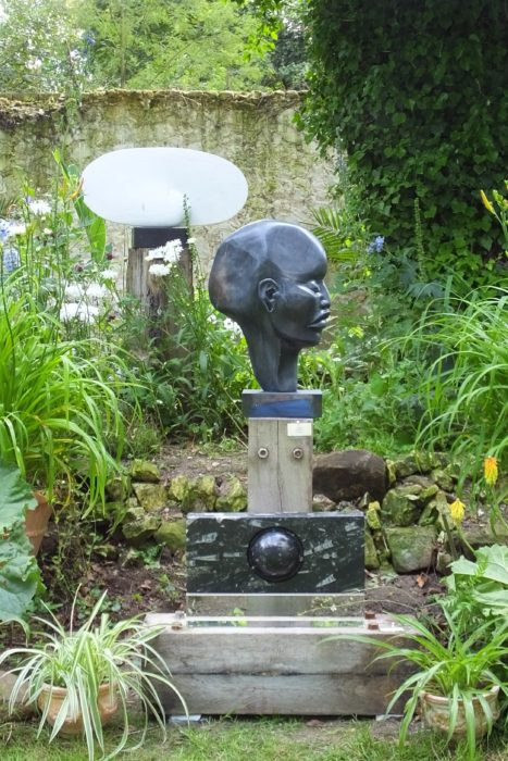 Mel Fraser contemporary stone sculpture