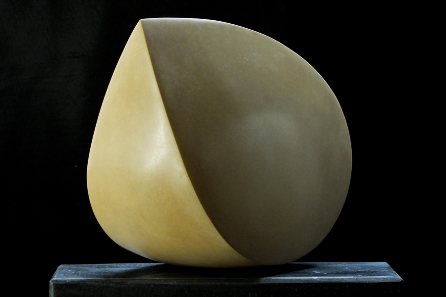 Balance Form, Duchery, by Mel Fraser, contemporary stone sculpture