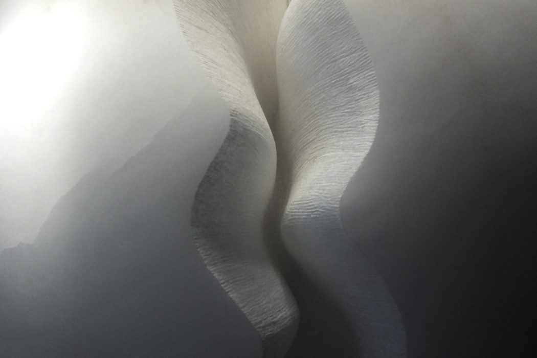 Fracture II by Mel Fraser, contemporary stone sculpture