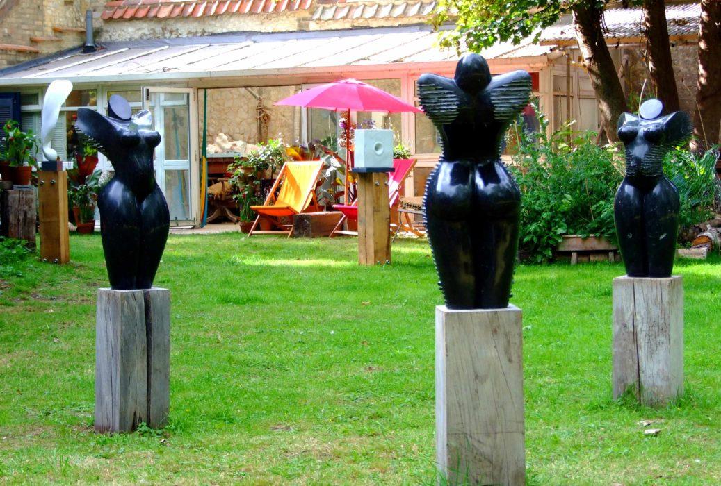 Cambridge Open Studio with Mel Fraser, contemporary stone sculpture