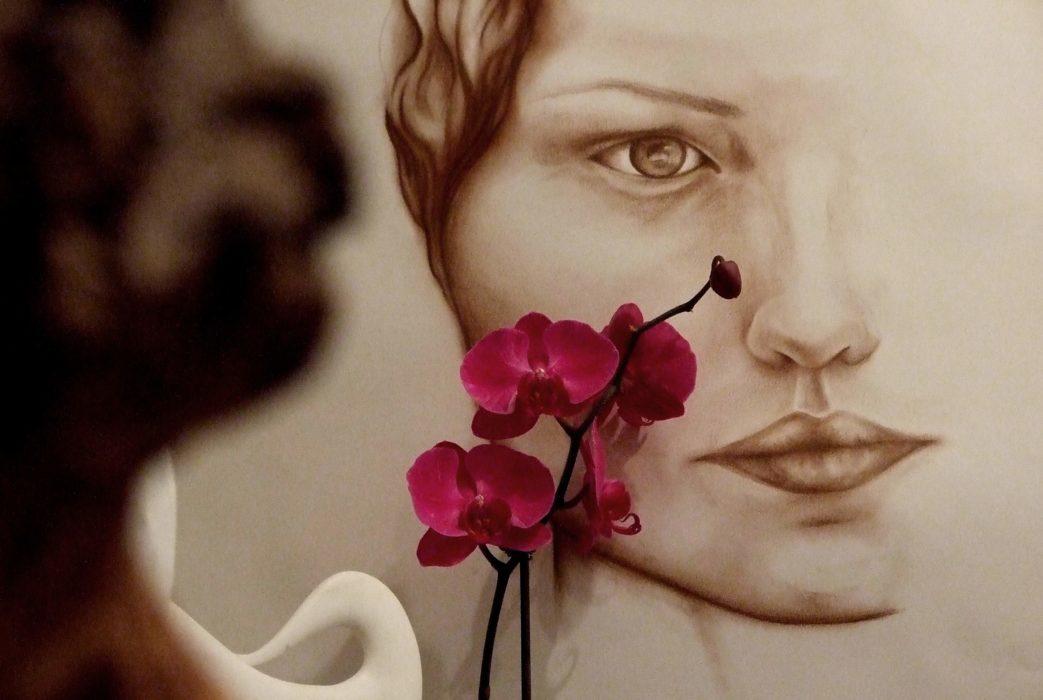 Orchid Girl by Mel Fraser