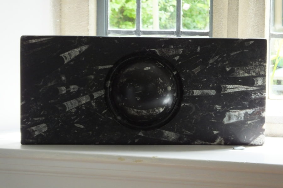 Flash! Moroccan marble by Mel Fraser, contemporary stone sculpture